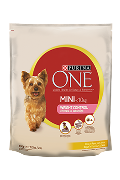 Purina One Mini WEIGHT CONTROL, Curcan și Orez