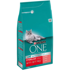 PURINA® ONE® STERILCAT Somon și Cereale